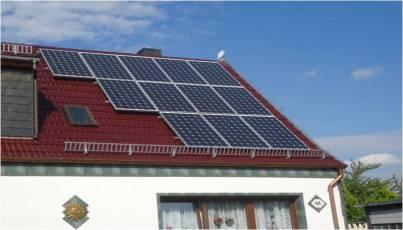 Photovoltaikanlage mit Asola Modulen im Unstruth-Hainich-Kreis