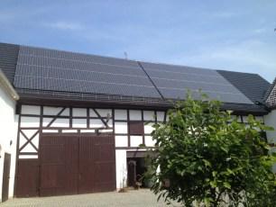 Solaranlage mit Q.Cells Modulen in Gera