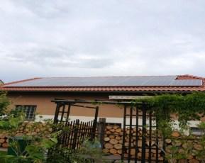 Photovoltaikanlage mit Q.Cells Modulen in Hohenkirchen