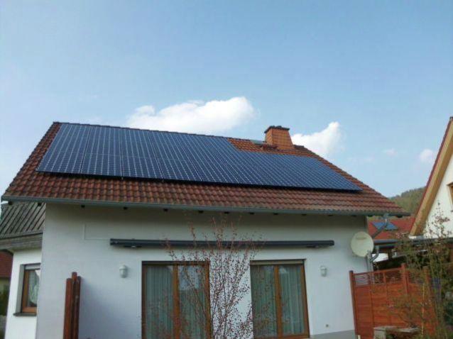 LG mit NeoN Zelle und Solaredge in Creuzburg