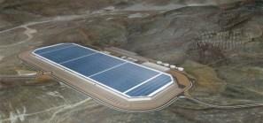Tesla battery factory in Nevada the Gigafactory