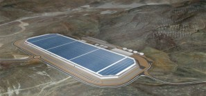 Tesla battery factory in Nevada the Gigafactory