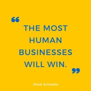 social media business win