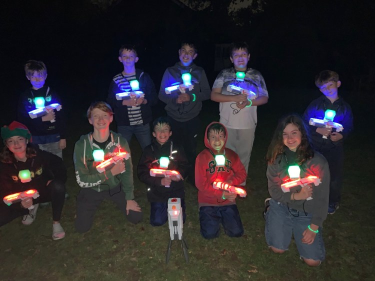 STAY laser tag light party