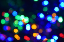 Actual coloured lights!