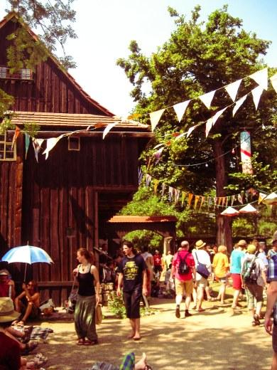 festival, Musik, Thüringen, Bauernhäuser, Heinepark