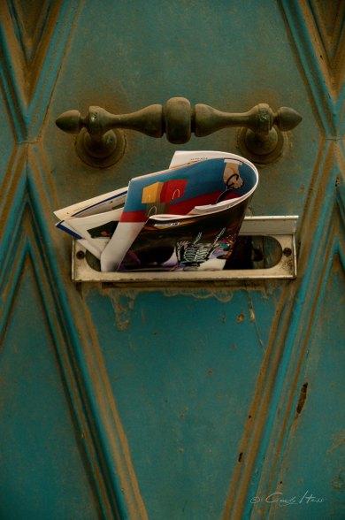 Briefkasten, letter box, Tür, door, Valetta, Malta