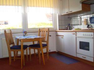 Sonny Appartements, Ferienwohnungen auf Juist, Küche