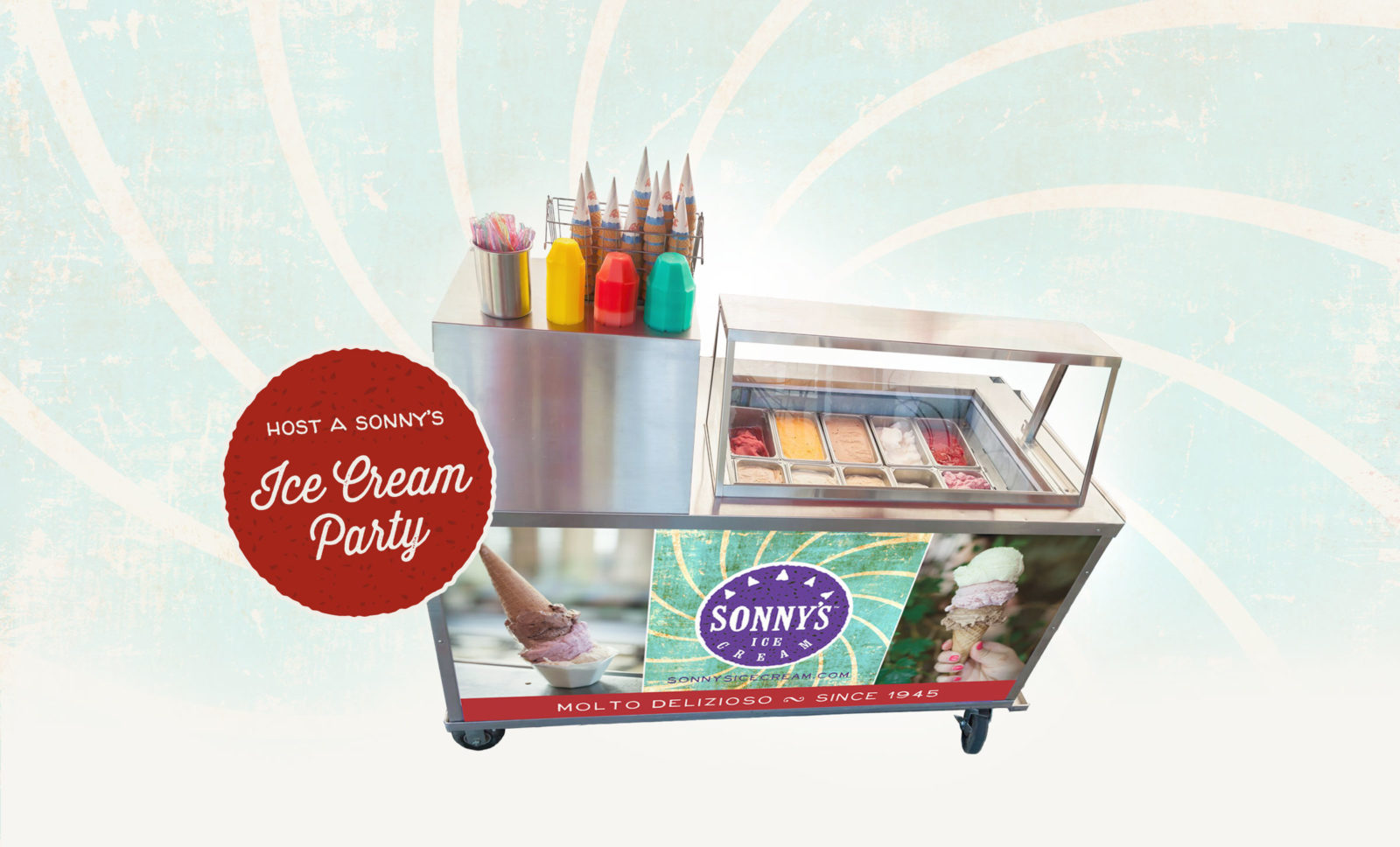 Host a Sonny's Ice Cream Party