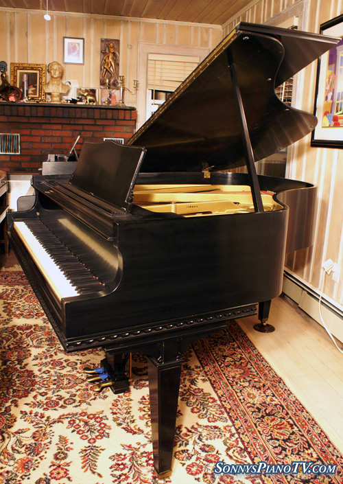 Knabe Ebony Grand Piano