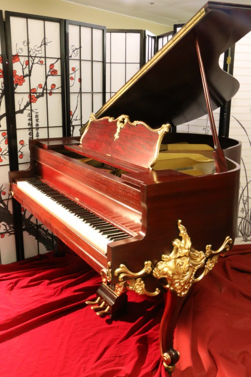 Wurlitzer Baby Grand Piano Gorgeous Art Case Refin./Refurbished 10/2015 $8,500