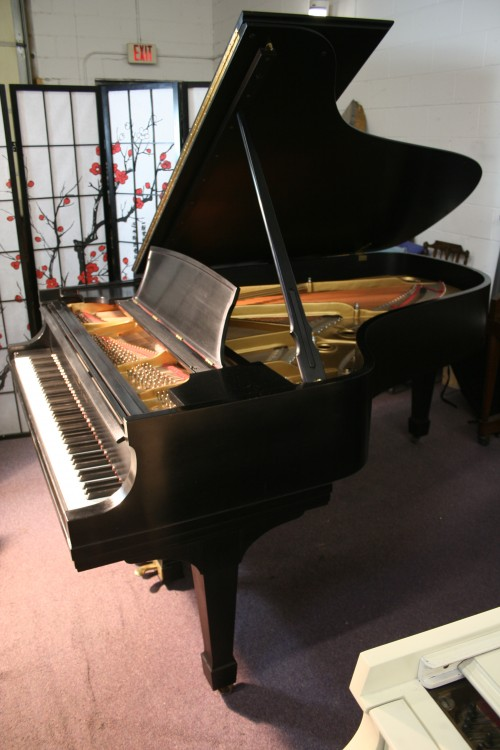 Steinway Grand Piano Model B 1979 Satin Ebony Low Mileage $29,500.