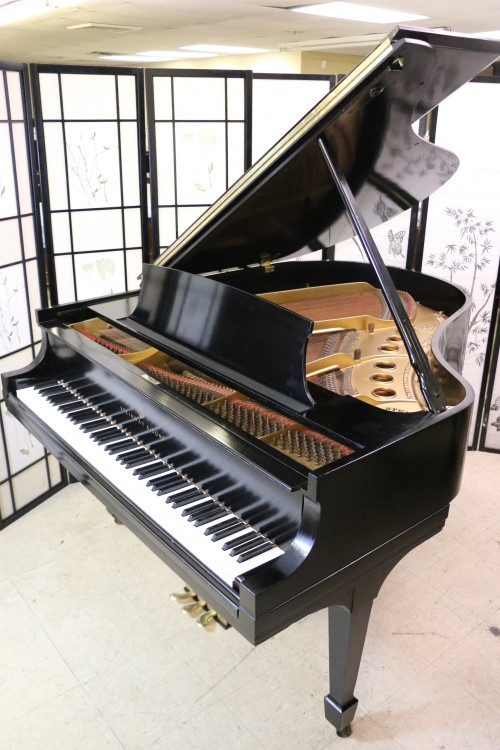 Sonny's Pianos Used Steinway M 1928 Ebony Grand Piano (VIDEO) $13,500 Refubished/Refinished