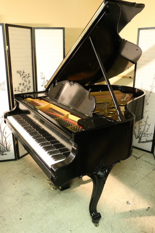 King Louis XV Style Art Case Steinway Grand Piano Model  O 5'10.5