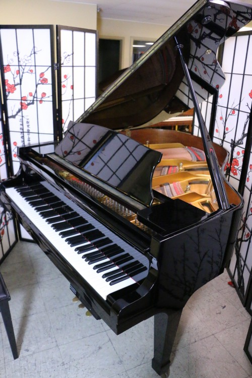 Sojin Player Piano Ebony Gloss Baby Grand 5'3