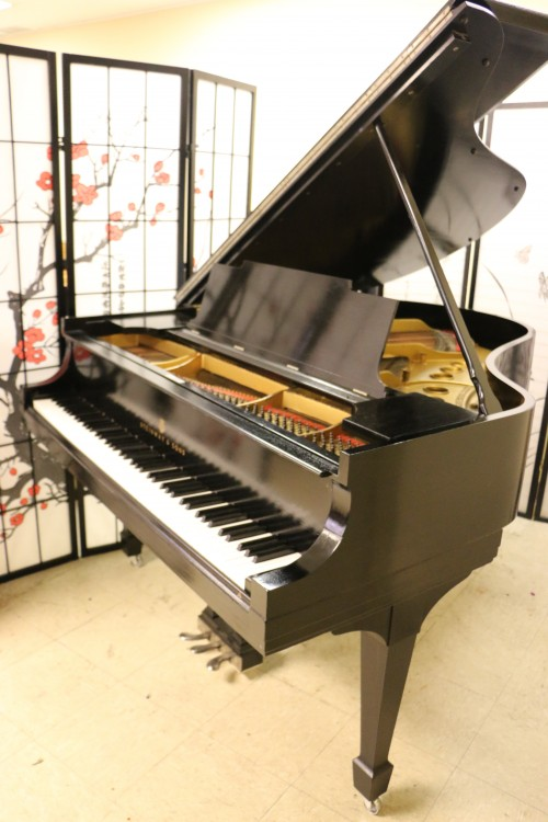Pre-owned Used Steinway M Ebony Semi-gloss for NYC NJ CT & Worldwide $13,500 1917 (VIDEO) Refinished/Reconditioned 09/2015