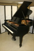 Steinway Grand Piano Model L 5'10' Ebony 1927 Refurbished $15,500.