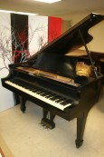 Steinway L Ebony Grand Piano 1939 Recently Rebuilt/Refinished 19,500