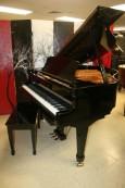 Knabe Baby Grand Player Piano (VIDEO) Ebony Gloss 1992 $7500.