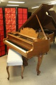 Art Case Steinway Model M Grand Piano King Louis XVI Walnut  $23,500.