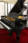 Art Case Steinway A Victorian Style Fully Rebuilt 20 years ago Semi-Gloss Ebony $22,500.