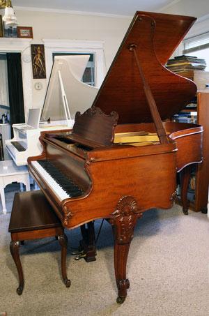 Sohmer Grand Piano Queen Anne Legs