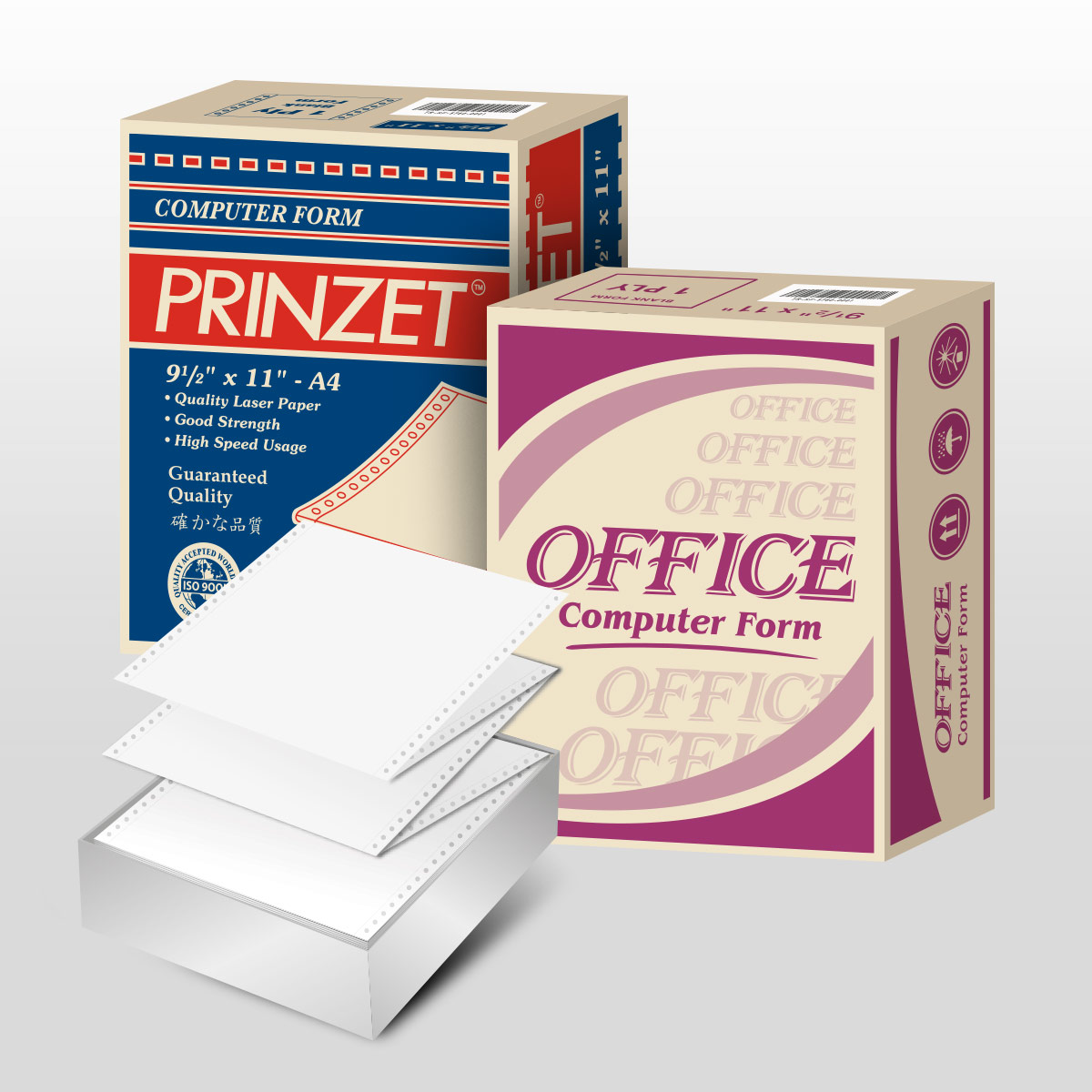 Prinzet and Office Computer Form
