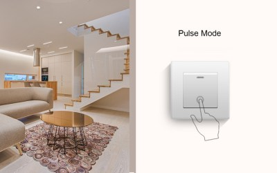 What are new trigger modes for MINI's external switch?- Pulse Mode