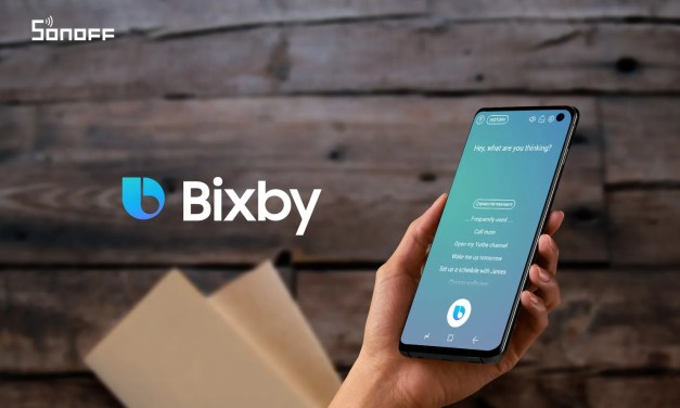 Bixby guide: how SONOFF devices work on Samsung Galaxy phones?