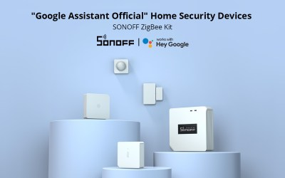 SONOFF ZigBee Home Security Kit – Now Has Been An Official Smart Security Kit on Google Shopping