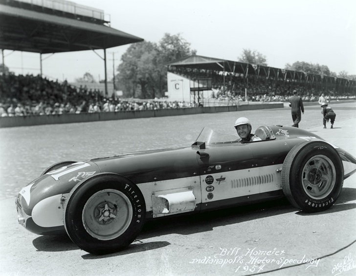Dad's 1954 Indy 500 Qualifying Photo