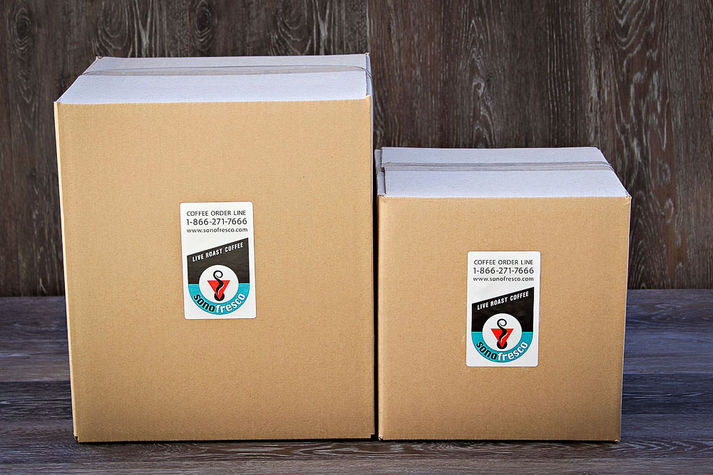 Unroasted Coffee Full Boxes