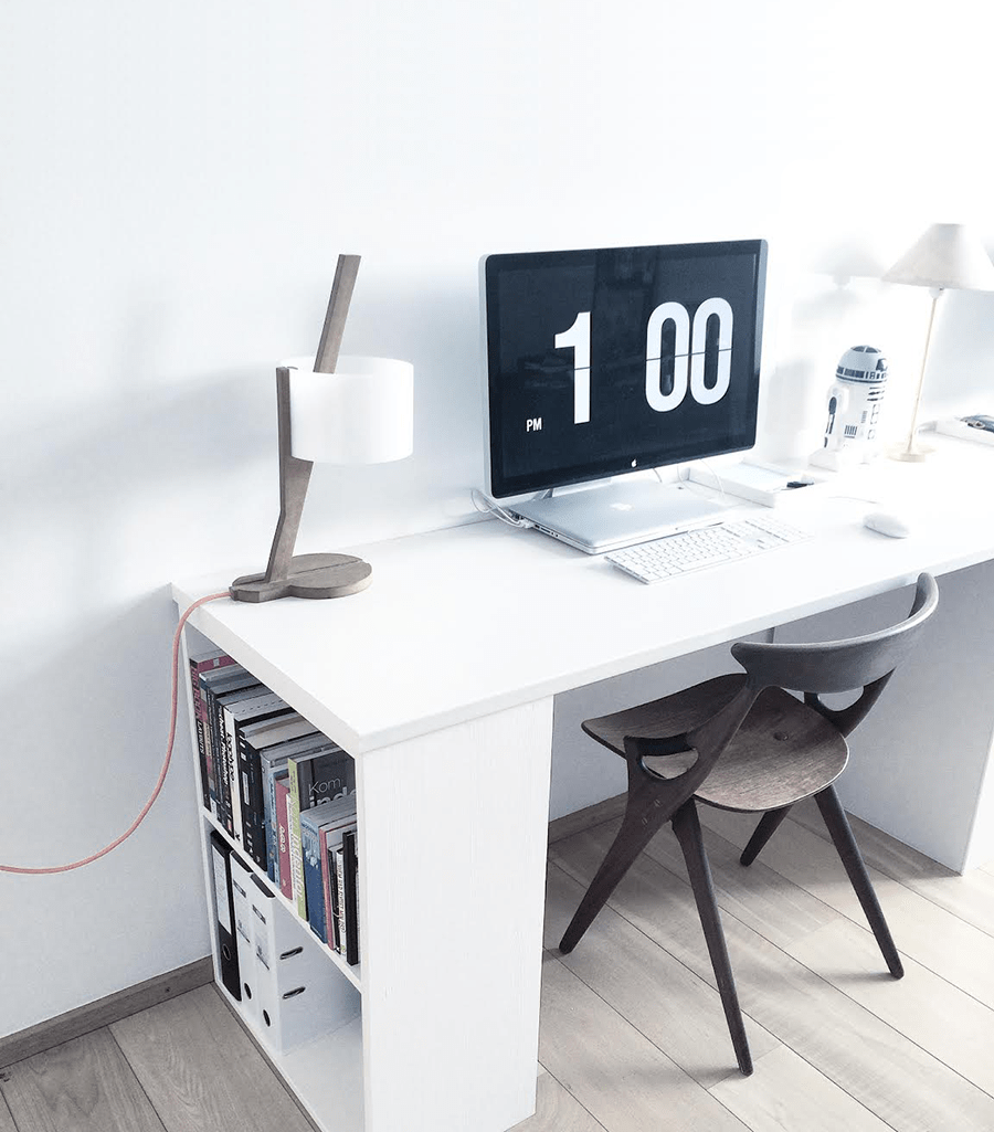 DIY - White office desk