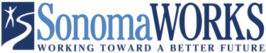 "SonomaWORKS logo ""Working Towards A Better Future"""