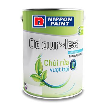 Sơn Nội Thất Nippon Adour Less Chùi Vượt Trội