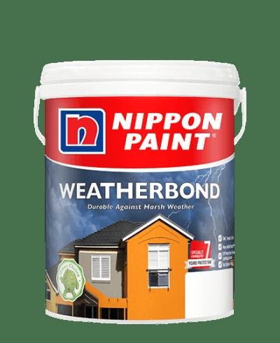 sơn ngoại thất cao cấp Nippon Weatherbond
