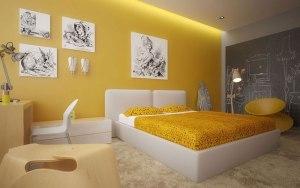 Cách phối màu sơn nội thất Nippon cho phòng ngủ