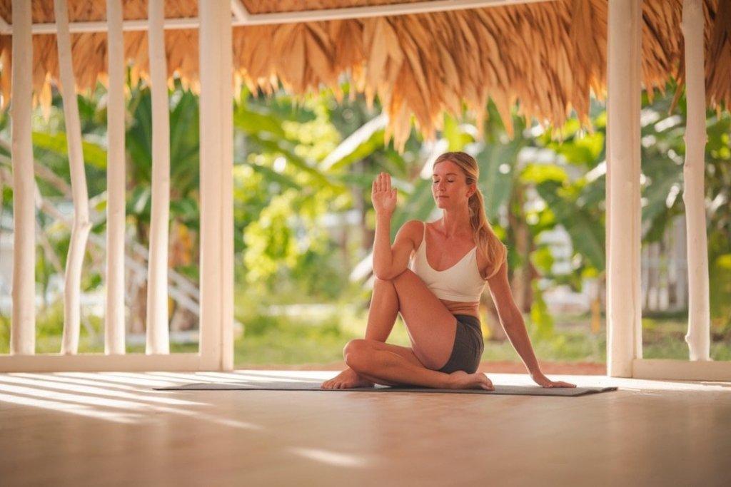 Huespedes en yoga