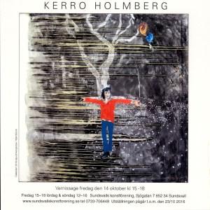 """""""Defender"""" 2016 olja och kol på duk, 100x100 cm"""