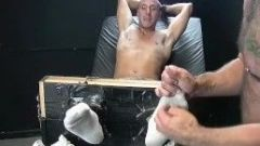 Feet play massage and tickleing with Collins and Franco