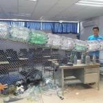 Ciudadanos preparan los primeros 'atrapa basuras' en Mazatlán