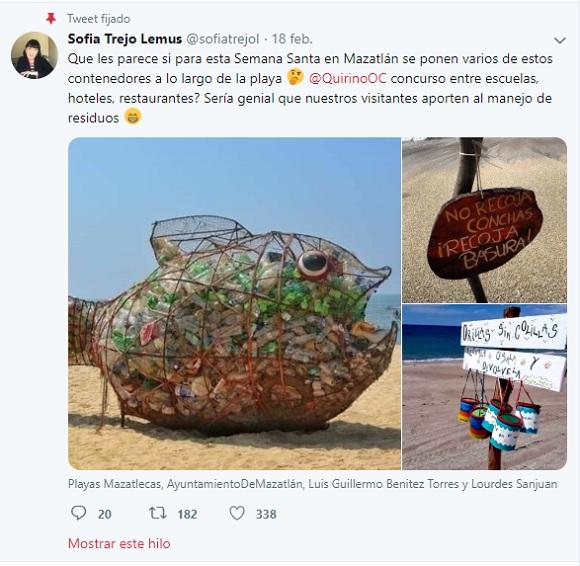 contenddores de basura