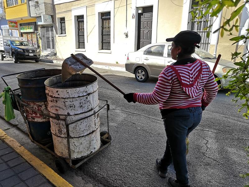 basura en calles