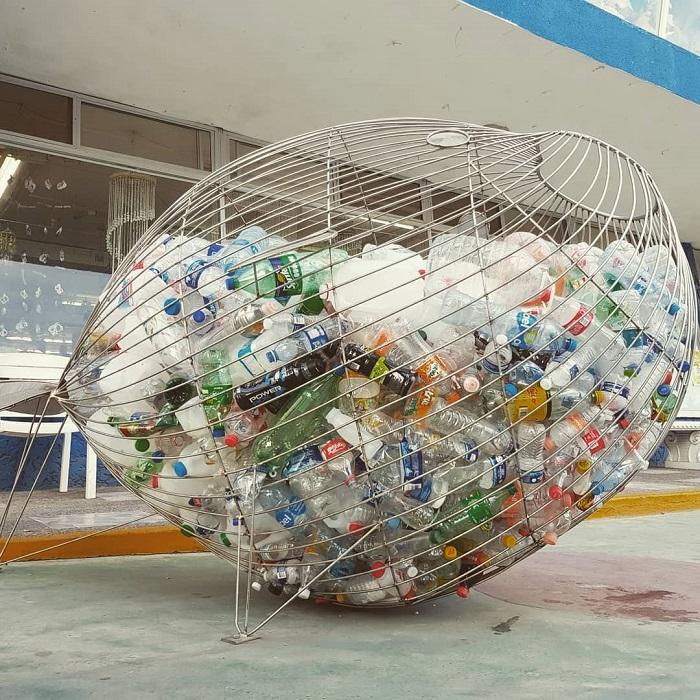 Depósito de envases PET