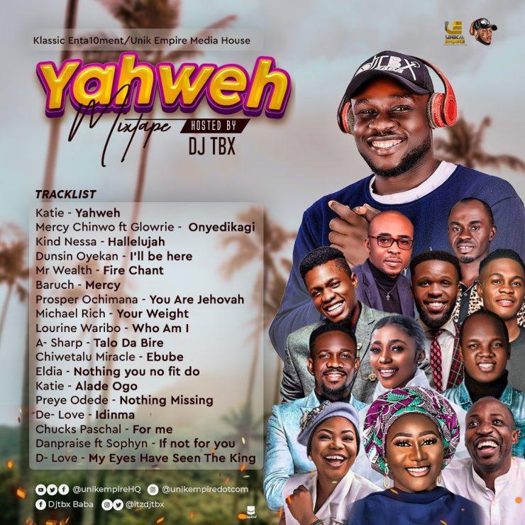 Download DJTbx Yahweh Mixtape