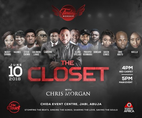 EVENT: Timeless Worship ( The Closet ) With Chris Morgan | 10th June 2018 | SonsHub