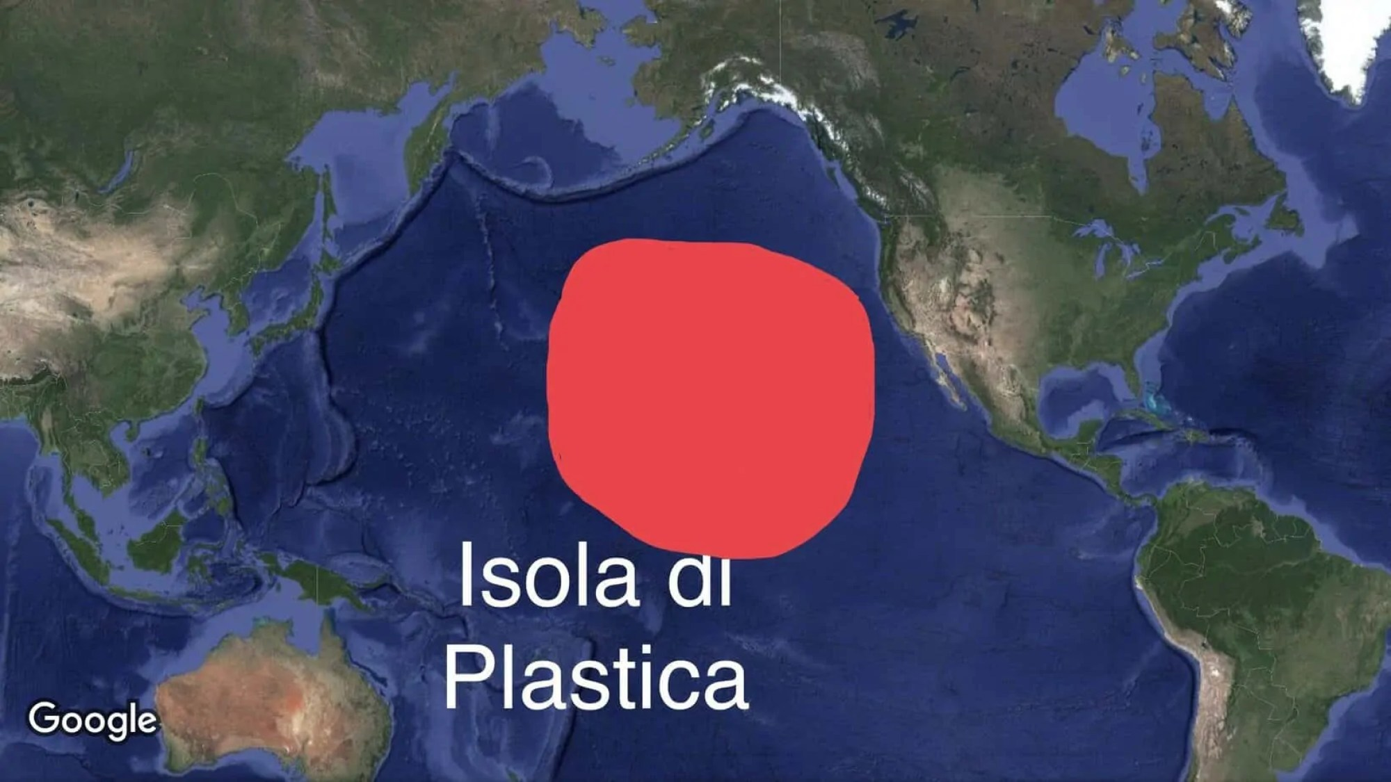 L'isola di plastica ha raggiunto le dimensioni di tre volte la Francia ...