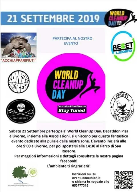 Evento da non perdere : WORLD CLEANUP DAY