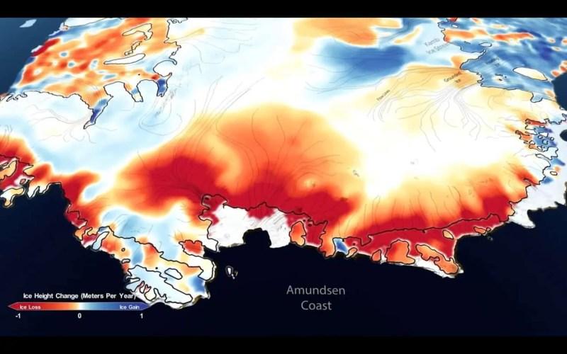 Si sta assottigliando la calotta glaciale della Groenlandia e dell'Antartide