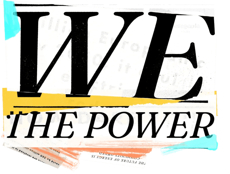 WE THE POWER ... PATAGONIA